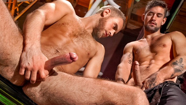 Two Sexy Gay French Studs In Fuck Action